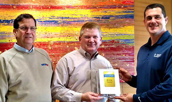 Securitec has been awarded Elite Reseller by Exacq.